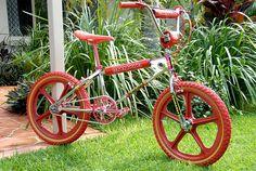 1982 Mongoose Supergoose BMX - The dream bike of the Bmx Bandits, Vintage Bmx Bikes, Retro Bikes, Bmx Cycles, Push Bikes, Bicycle Shop, Bmx Freestyle, Cycling Bikes, Old School