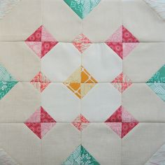 Mineral block tutorial for The Bee Hive Quilts Pattern Blocks, Quilt Patterns, Block Patterns, Heart Quilts, Sampler Quilts, Half Square Triangles, Quilt Blocks, Minerals, Bee