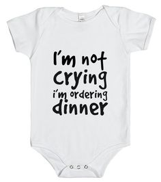 Funny Baby onsie that would be so simple to make!