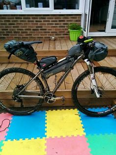 My current bikepacking set up. A Kinesis Sync with Apidura and Alpkit bags.