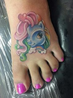 My Little Pony, Rainbow Dash! by Chentelle Hitchcock at Derm F/X Tattoo in Auburn, WA