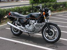 1980 Honda CBX.  This is not my old CBX, but I had one just like it. Yes....I sold it. I thought I couldn't afford the payments. Where was my loyalty and passion?