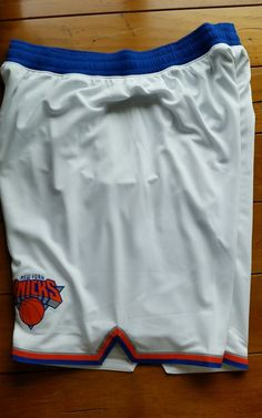 Mens NBA NY Knicks White adidas swingman shorts XL X-LARGE FREE SHIPPING  #adidas #NewYorkKnicks