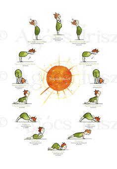 Morning sun salutations