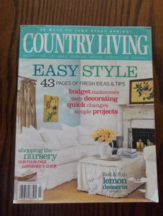 1000 images about for sale gardening magazine back for Country living gardener magazine website
