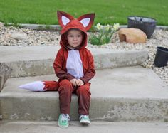 Running With Scissors: Woodland Animal Costume Sewing Pattern