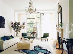 10 Fashion Rules to Bring to Your Living Room via @MyDomaine