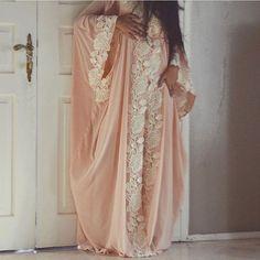 Very elegant abaya with lace