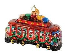 Radko Along for the Ride B & O Railroad Train Car Christmas Ornament Train Ornament, Radko Christmas Ornaments, Christopher Radko, Train Car, Favorite Holiday, Baby Items, Decorative Boxes, My Favorite Things, Ebay