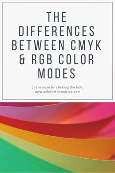 What is the Difference between CMYK and RGB Colors? Different, Posts, Learning, Medium, Colors, Creative, Blog, Design, Art