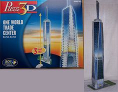 Celebrate the tallest building in the Western Hemisphere with the Puzz - One World Trade Center. This puzzle stands over tall and is a skill level 2 structure for ages 14 and up that'll take some time to complete but will be totally.