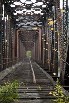 Abandoned Train Bridge 2013. | Flickr - Photo Sharing!