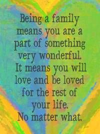 and oh what a wonderful family I have too :)