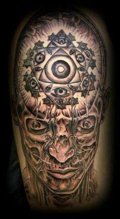 Alex Gray tattoo