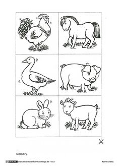 Farm Animals Coloring Pages Pdf Printable Preschool Worksheets, Kindergarten Worksheets, Farm Animal Coloring Pages, Coloring Pages For Kids, Farm Animals Preschool, Illustrator, Drawing For Kids, Fun To Be One, Special Education
