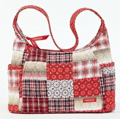 Bella Taylor Poppy Plaid Quilted Cotton Curve