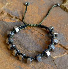 Hex Nut Knotted Bracelet