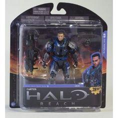 Halo Reach McFarlane Toys Series 5 Action Figure Carter Unhelmeted