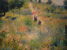 Pierre-Auguste Renoir -  Path up in Tall Grass, (1873) musée d'Orsay, Paris
