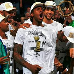 SPURS took home 2 ESPY awards Best Championship Preforms and  Best Coach/Manager!  #GOSPURS
