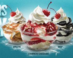 FREE Sundae at Checkers and Rally's on http://hunt4freebies.com