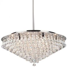 Buy the Artcraft Lighting AC242 Chrome Direct. Shop for the Artcraft Lighting AC242 Chrome Wilmington 12 Light Crystal Chandelier - 26 Inches Wide and save.
