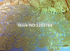 Free shipping!  TS535 Wholesale price  5 yards high  Cupion / Guipure lace fabric 100% cotton polyester