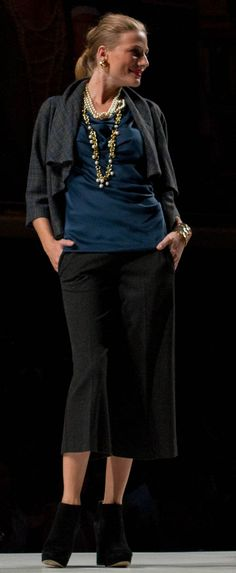 The Court Jacket, Drapes Again Tank and Ponte Gaucho. #CAbiScoop #Fall'12Collection
