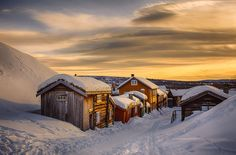 Sundown At Røros by Cinematic Photography on 500px