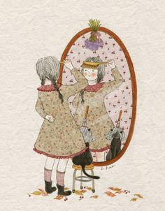 가을엔 왠지...머리 스타일을 바꿔보고 싶었습니다. 친구들도, 나도...유난히 거울 보는 시간이 늘어가는 때였지요. 앞머리를 잘라보면 어떨까.... 아니야, 잘못 잘랐다가 이상하면 어떡해.... 방빗자루를 이마에 대어 보기를 수십번.... 이번 가을이 가기 전....앞머리를 잘라볼 수나 있을까요....?  *나도 이참에 머리나 길러볼까냥~~~~~
