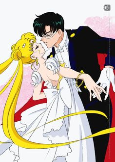 World of Eternal Sailor Moon (Posts tagged sailor moon fanart) Darien Sailor Moon, Sailor Moon Usagi, Sailor Moon Art, Sailor Moon Crystal, Neo Queen Serenity, Princess Serenity, Cartoon Photo, Cartoon Pics, Sailor Moon Background