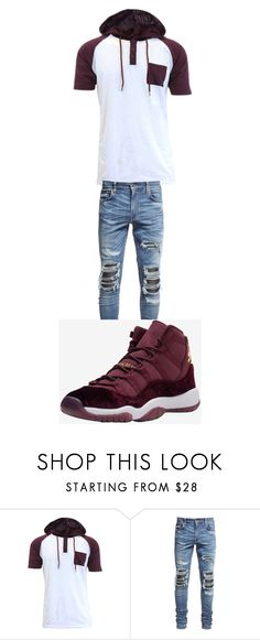 """11"" by altravious on Polyvore featuring AMIRI, men's fashion and menswear"
