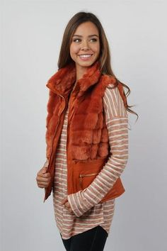 Ladies Burnt Orange Waterfall Cardigan | Burnt orange, Stylish and ...