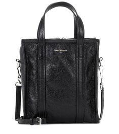9fcc9ea20f31 Balenciaga - Bazar XS leather shopper - Crafted from the label s signature  arena lamb leather
