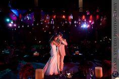 JOCELYN + ALEJANDRO • Destination Wedding at Xcaret • Riviera Maya » / / / Zasil Wedding Photoblog hanging bottles. dancefloor