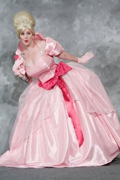 Character: Charlotte La Bouff Movie: Princess and the Frog Cosplayer: Doll_Face