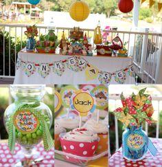 Monkey party table