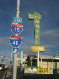 Cactus Motel, Route 66 - Barstow, California