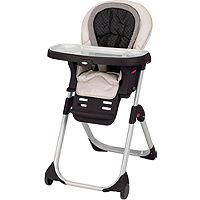 Graco DuoDiner™ Highchair....removable, dishwasher safe tray, back of chair can be washed in washing machine. LOVE IT!
