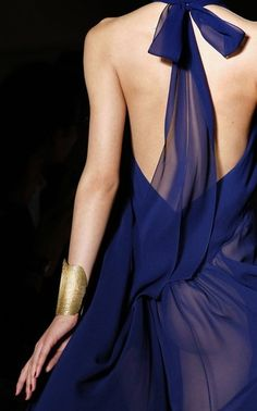 Yves St. Laurent - gorgeous back