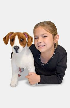 Melissa & Doug Oversized Jack Russell Terrier available at #Nordstrom