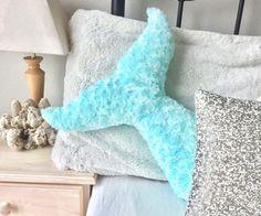 Mermaid Tail Bedroom Pillows