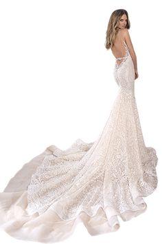 Wedding gown by Berta Bridal.