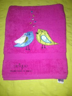 Blue and yellow pretty love birds, For more of our handmade crafts Go to  https://www.profiletree.com/unique-pillows  #crafts, #pillows, #cushions, #towels, #handmade, #personalized, #bathrobe, #pillowcases,
