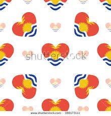 Country flag in the shape of heart. Tonga, Vanuatu, Kiribati Flag, Flag Background, Flag Vector, Australia, Heart Shapes, Royalty Free Stock Photos, Illustration