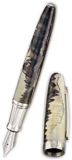 Krone John Muir Yosemite Limited Edition Fountain Pen Silver