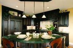 home design kitchen ideas kitchen island design ideas photos kitchen design ideas #Kitchen