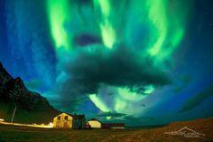 Aurora Storm Iceland