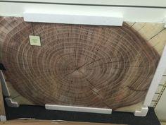 HomeGoods artwork - tempered glass, tree cross section