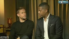 """Video on instagram   452 Likes, 15 Comments - ExtraTV (@extratv) on Instagram: """"#CharlieHunnam is #KingArthur! (You better recognize!) Lots more tonight on #ExtraTV! """""""